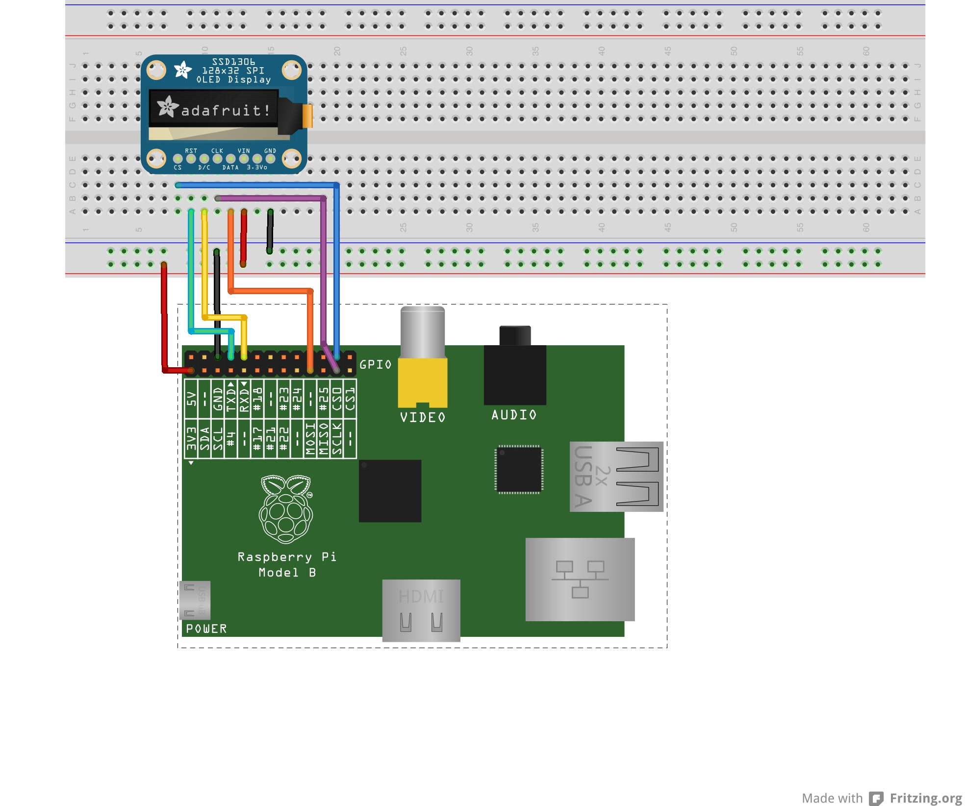 Adafruit Customer Service Forums View Topic Ssd1306 13 128x64 Wiringpi Spi Interrupt The Pins According To Guys Instruction Http Guycarpenteridau Gaugette Blog 2012 11 08 Controlling An Oled With A Raspberry Pi